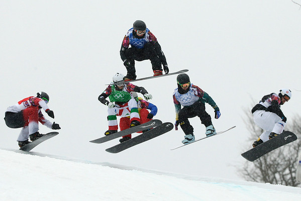 PHOTOS: Men's Snowboard Cross at Sochi 2014 Winter Olympics