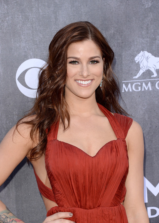 . Singer Cassadee Pope attends the 49th Annual Academy Of Country Music Awards at the MGM Grand Garden Arena on April 6, 2014 in Las Vegas, Nevada.  (Photo by Jason Merritt/Getty Images)