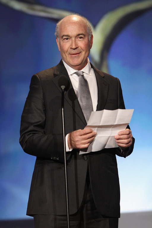 . Writer Joshua Brand accepts The Paddy Chayefsky Laurel Award for Television Writing Achievement onstage at the 2013 WGAw Writers Guild Awards at JW Marriott Los Angeles at L.A. LIVE on February 17, 2013 in Los Angeles, California.  (Photo by Maury Phillips/Getty Images for WGAw)