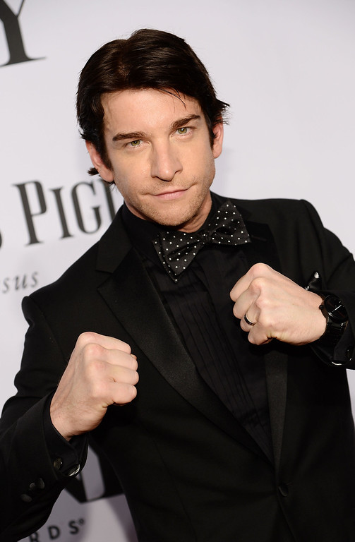 . Actor Andy Karl attends the 68th Annual Tony Awards at Radio City Music Hall on June 8, 2014 in New York City.  (Photo by Dimitrios Kambouris/Getty Images for Tony Awards Productions)
