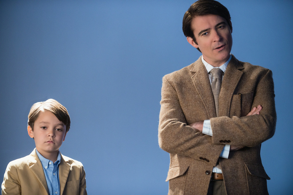 . (L-R)  Pierce Gagnon as Ethan Woods and Goran Visnjic as John Woods Photo: Dale Robinette/CBS ©2014 CBS Broadcasting, Inc. All Rights Reserved
