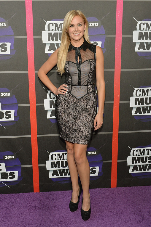 . NASHVILLE, TN - JUNE 05:  Actress Laura Bell Bundy attends the 2013 CMT Music awards at the Bridgestone Arena on June 5, 2013 in Nashville, Tennessee.  (Photo by Rick Diamond/Getty Images)