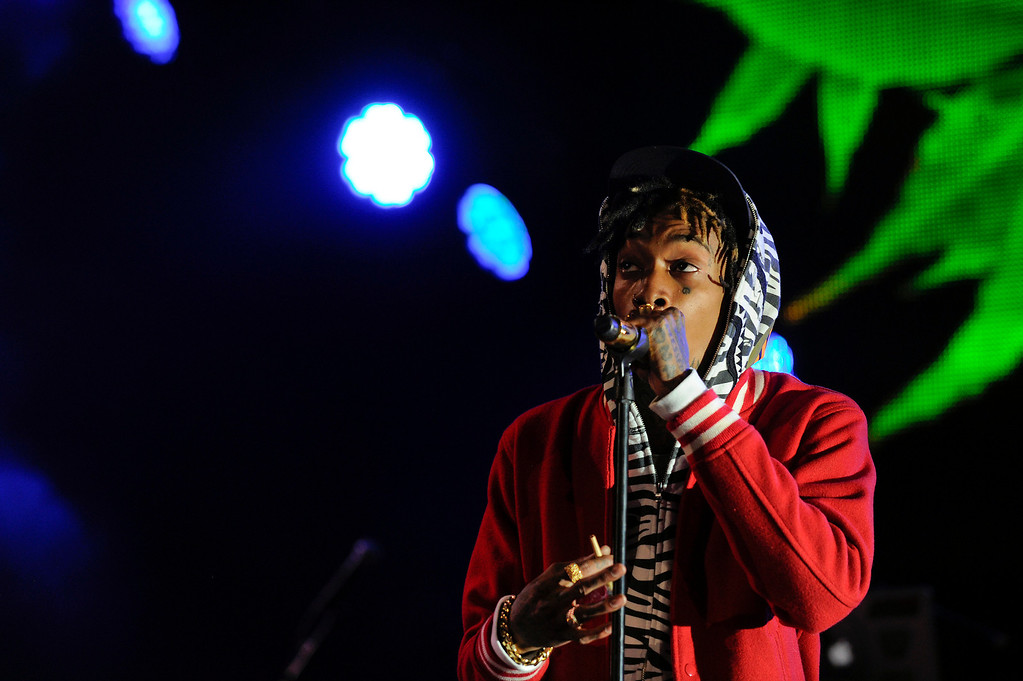 . Wiz Khalifa performs at Red Rocks Amphitheater as a part of the Snoop Dogg 420 Wellness Retreat in Morrison, Colorado on April 20, 2014. (Photo by Seth McConnell/The Denver Post)