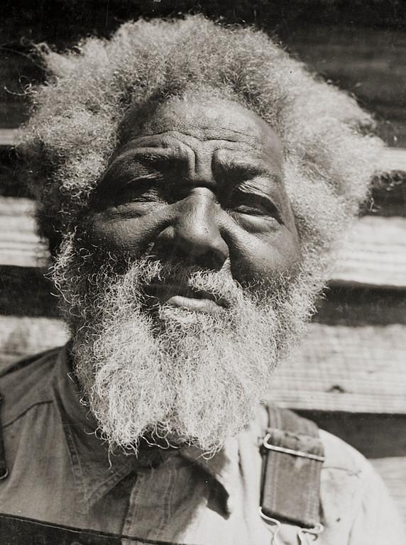 . Tony Thompson, born in slavery. Greene County, Georgia. Jack Delano, photographer, 1941 June. Library of Congress