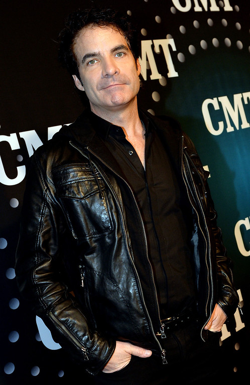 . Train\'s Pat Monahan attends CMT Artists Of The Year 2013 at Music City Center on December 3, 2013 in Nashville, Tennessee.  (Photo by Rick Diamond/Getty Images for CMT)