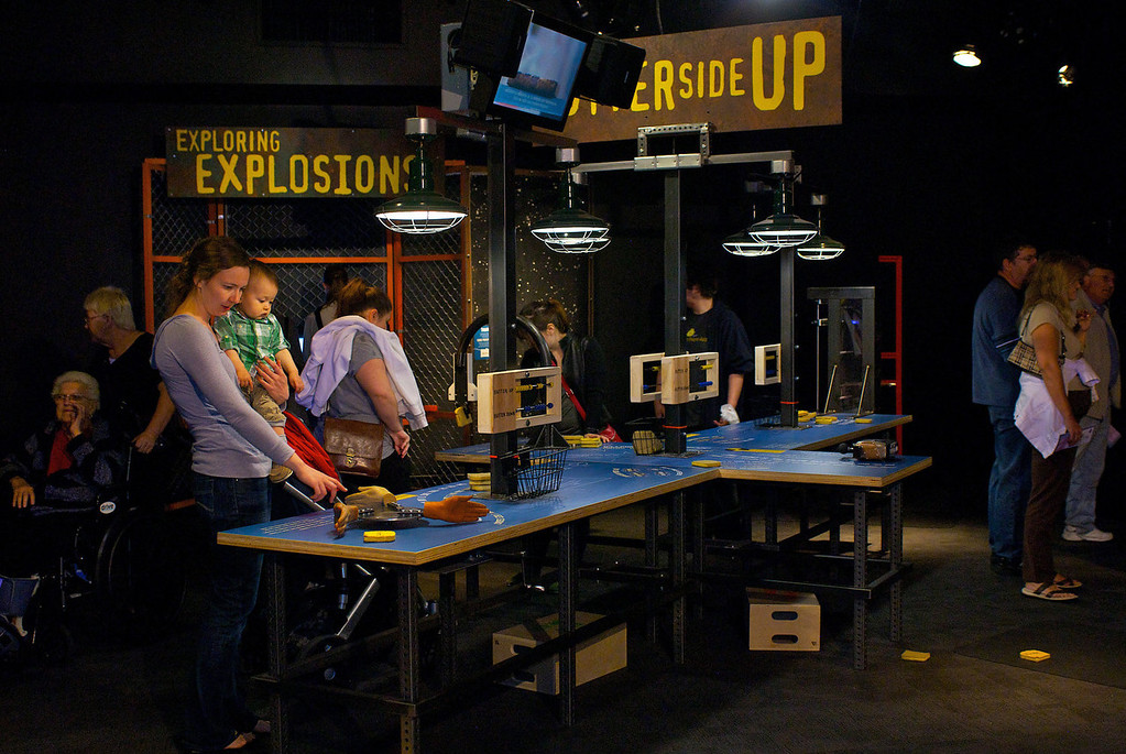 """. The Discovery Channel show \""""Mythbusters\"""" comes to life with a new exhibit at the Denver Museum of Nature & Science opening Oct. 11."""