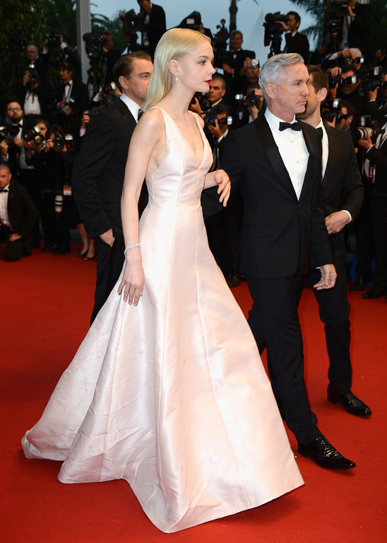 . Carey Mulligan and Baz Luhrmann attend the Opening Ceremony and \'The Great Gatsby\' Premiere during the 66th Annual Cannes Film Festival at the Theatre Lumiere on May 15, 2013 in Cannes, France.  (Photo by Pascal Le Segretain/Getty Images)
