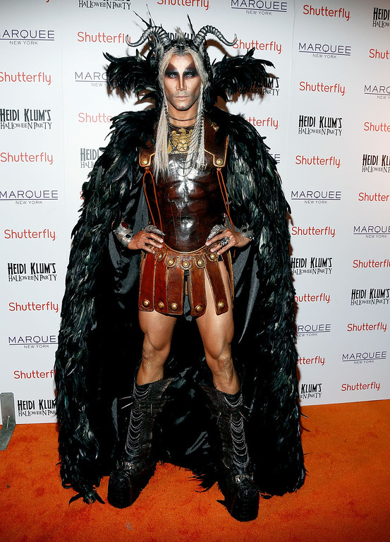 . Jay Manuel attends Shutterfly Presents Heidi Klum\'s 14th Annual Halloween Party sponsored by SVEDKA Vodka and smartwater at Marquee on October 31, 2013 in New York City.  (Photo by Cindy Ord/Getty Images for Heidi Klum)
