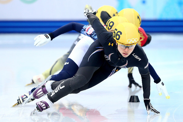 PHOTOS: Speed Skating Events at Sochi 2014 Winter Olympics