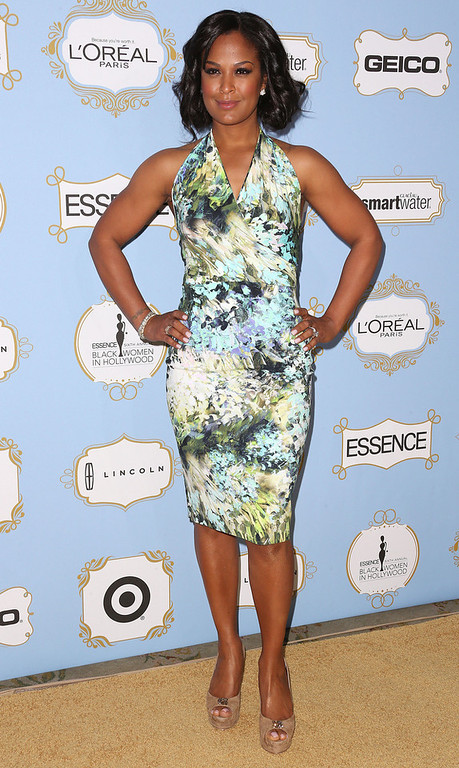 . Professional boxer Laila Ali attends the Sixth Annual ESSENCE Black Women In Hollywood Awards Luncheon at the Beverly Hills Hotel on February 21, 2013 in Beverly Hills, California.  (Photo by Frederick M. Brown/Getty Images)