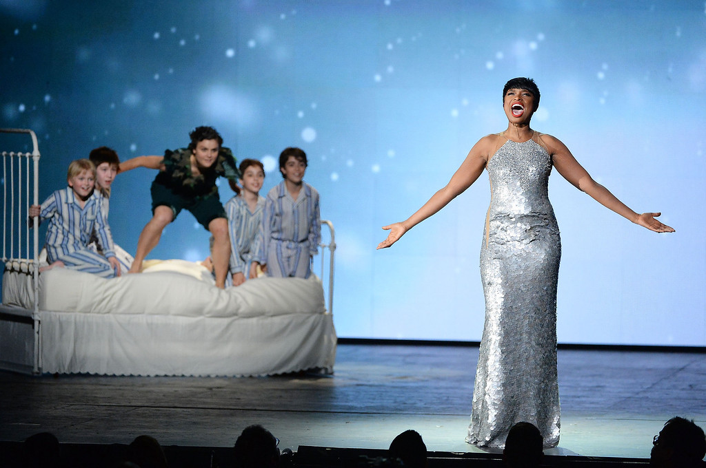 . Jennifer Hudson performs onstage during the 68th Annual Tony Awards at Radio City Music Hall on June 8, 2014 in New York City.  (Photo by Theo Wargo/Getty Images for Tony Awards Productions)