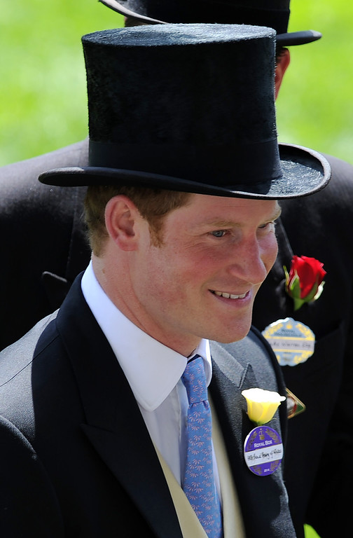 . Prince Harry attends Day 1 of Royal Ascot at Ascot Racecourse on June 17, 2014 in Ascot, England.  (Photo by Stuart C. Wilson/Getty Images)