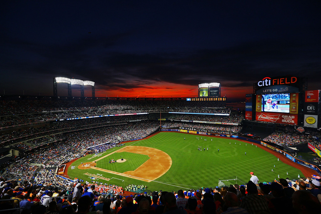 . A general view of the Chevrolet Home Run Derby on July 15, 2013 at Citi Field in the Flushing neighborhood of the Queens borough of New York City.  (Photo by Michael Heiman/Getty Images)