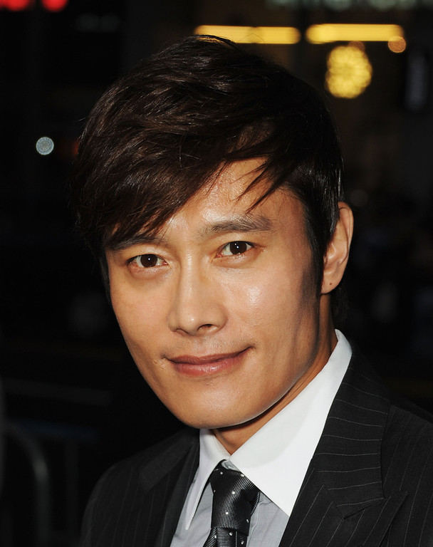 ". Actor Byung-Hun Lee attends the premiere of Paramount Pictures\' ""G.I. Joe:Retaliation\"" at TCL Chinese Theatre on March 28, 2013 in Hollywood, California.  (Photo by Kevin Winter/Getty Images)"