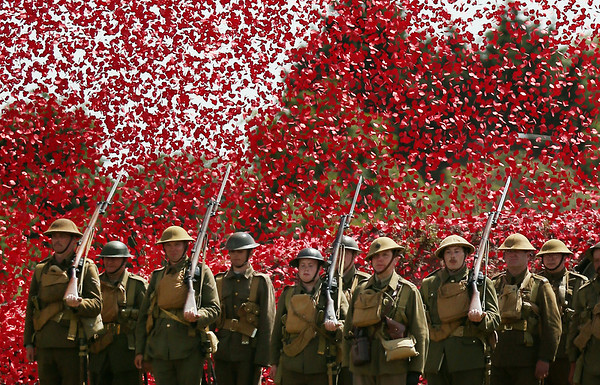 PHOTOS: 100 years since Great Britain declares war on Germany