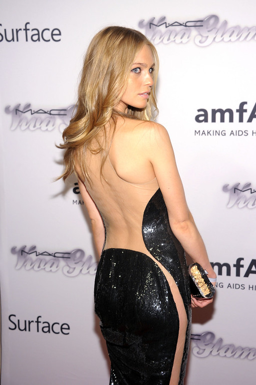 . NEW YORK, NY - JUNE 13:  Actress Katharina Damm attends the 4th Annual amfAR Inspiration Gala New York at The Plaza Hotel on June 13, 2013 in New York City.  (Photo by Michael Loccisano/Getty Images)