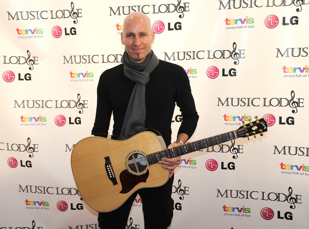 . Singer Matt Scannell attends The 10th Anniversary LG Music Lodge At Sundance With Elio Motors And Tervis on January 20, 2014 in Park City, Utah.  (Photo by Clayton Chase/Getty Images for LG Music Lodge)