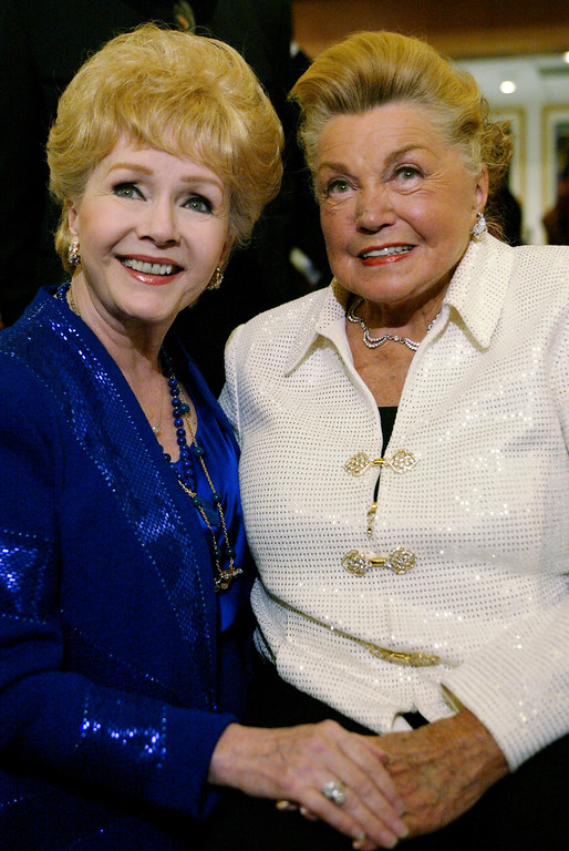 . Debbie Reynolds and Esther Williams