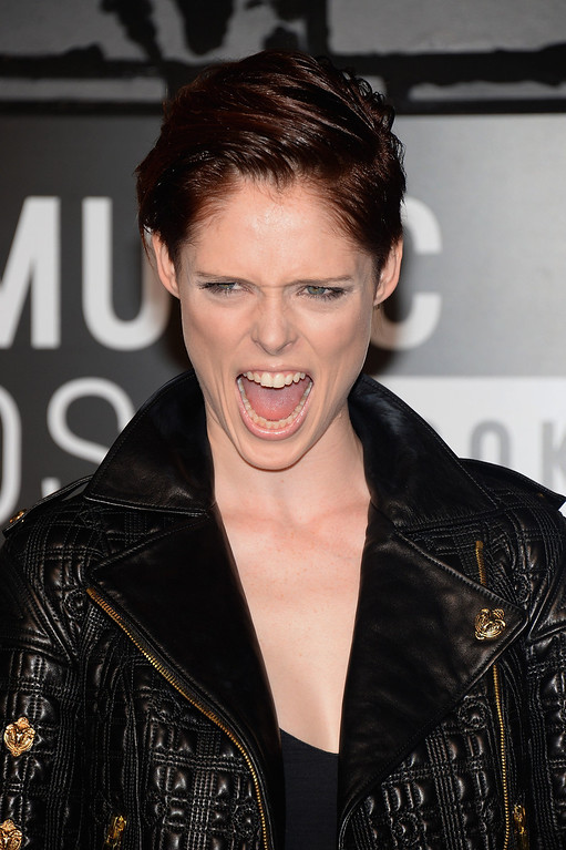 . TV personality Coco Rocha attends the 2013 MTV Video Music Awards at the Barclays Center on August 25, 2013 in the Brooklyn borough of New York City.  (Photo by Jamie McCarthy/Getty Images for MTV)