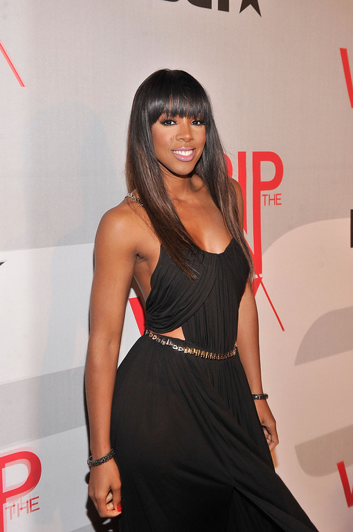 . Host Kelly Rowland attends BET\'s Rip The Runway 2013:Red Carpet at Hammerstein Ballroom on February 27, 2013 in New York City.  (Photo by Stephen Lovekin/Getty Images for BET\'s Rip The Runway)