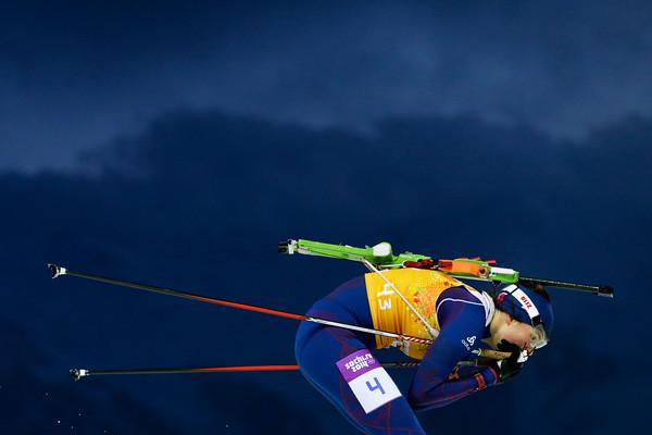 PHOTOS: Women's Biathlon 4x6km Relay at Sochi 2014 Winter Olympics