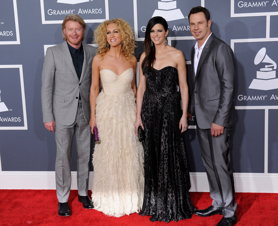 . Little Big Town arrives to  the 55th Annual Grammy Awards at Staples Center  in Los Angeles, California on February 10, 2013. ( Michael Owen Baker, staff photographer)