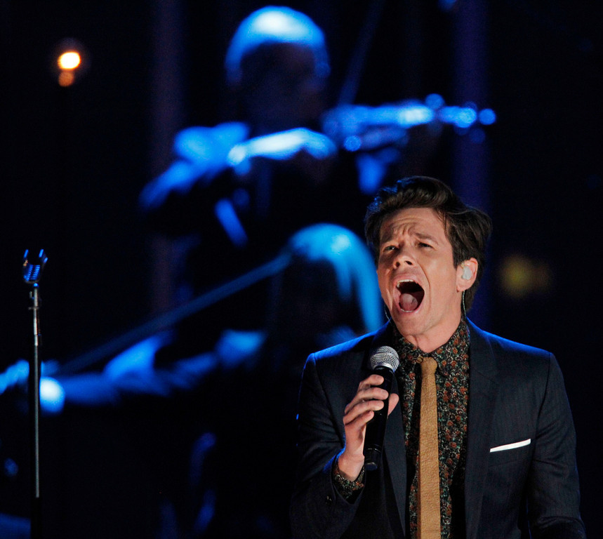 . Nate Ruess of the band Fun performs during the Grammy Nominations Concert in Nashville, Tennessee December 5, 2012.     REUTERS/Harrison McClary