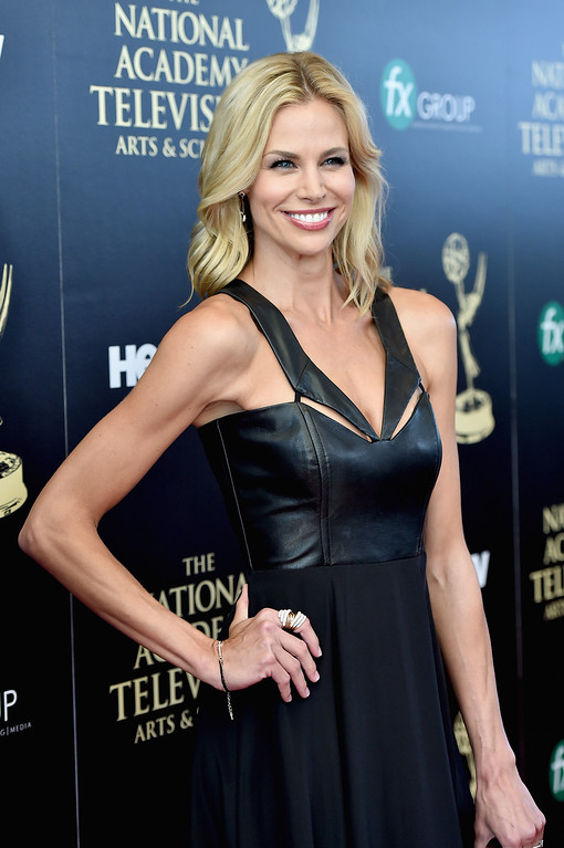 . TV personality Brooke Burns attends The 41st Annual Daytime Emmy Awards at The Beverly Hilton Hotel on June 22, 2014 in Beverly Hills, California.  (Photo by Alberto E. Rodriguez/Getty Images for NATAS)