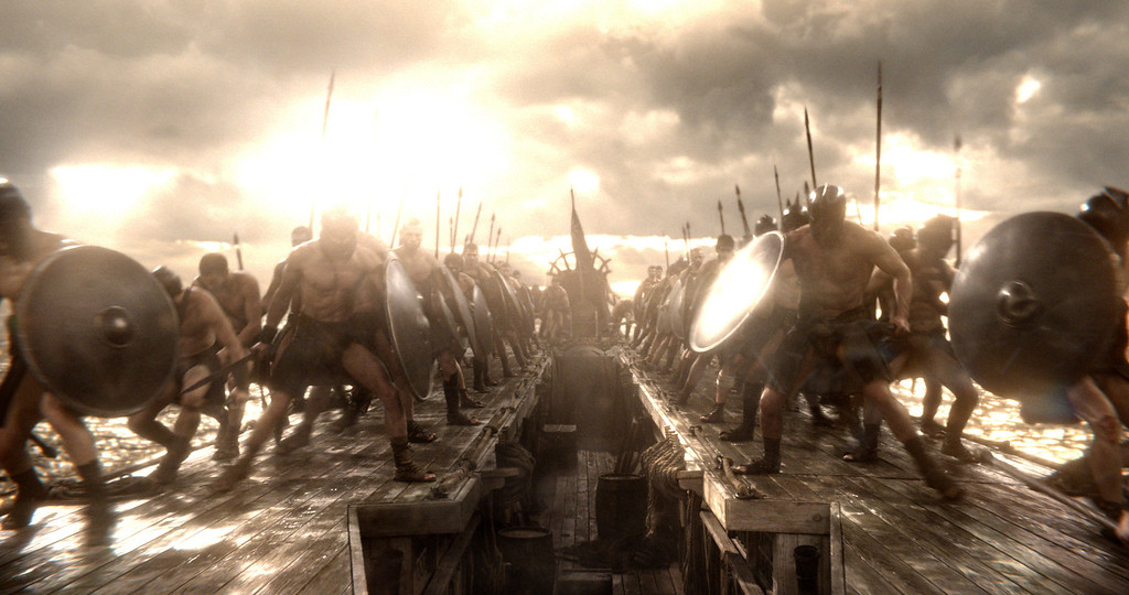 ". A scene from Warner Bros. Pictures� and Legendary Pictures� action adventure � ""300: Rise Of An Empire,\"" a Warner Bros. Pictures release."
