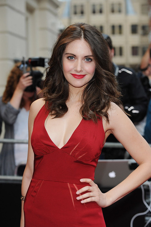. Alison Brie attends the GQ Men of the Year Awards 2012 at The Royal Opera House on September 4, 2012 in London, England.  (Photo by Ben Pruchnie/Getty Images)