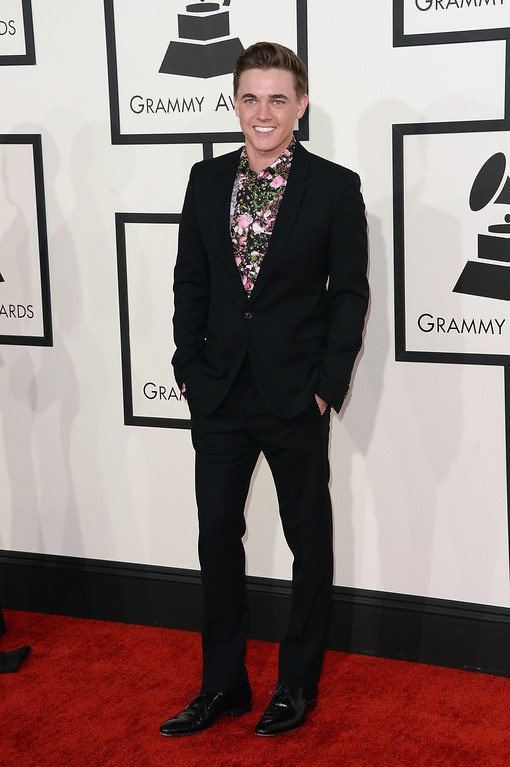 . Singer Jesse McCartney attends the 56th GRAMMY Awards at Staples Center on January 26, 2014 in Los Angeles, California.  (Photo by Jason Merritt/Getty Images)