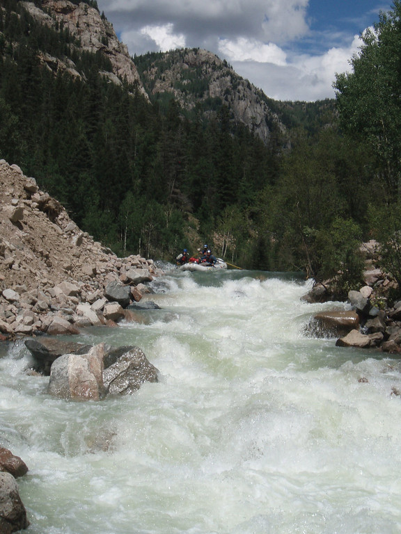 . The Upper Animas River is an exciting, scenic experience that you can extend into a multi-day adventure.  (Provided by Colorado River Outfitters Association)