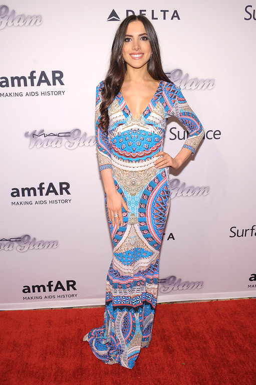 . NEW YORK, NY - JUNE 13:  Caren Brooks attends the 4th Annual amfAR Inspiration Gala New York at The Plaza Hotel on June 13, 2013 in New York City.  (Photo by Michael Loccisano/Getty Images)