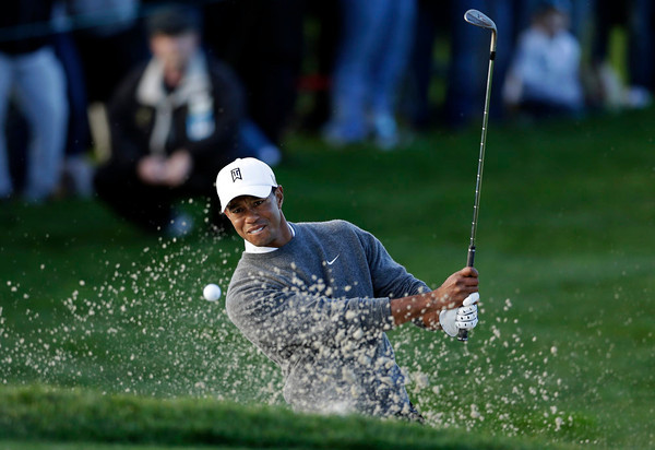 Photos: Farmers Insurance Open play resumes