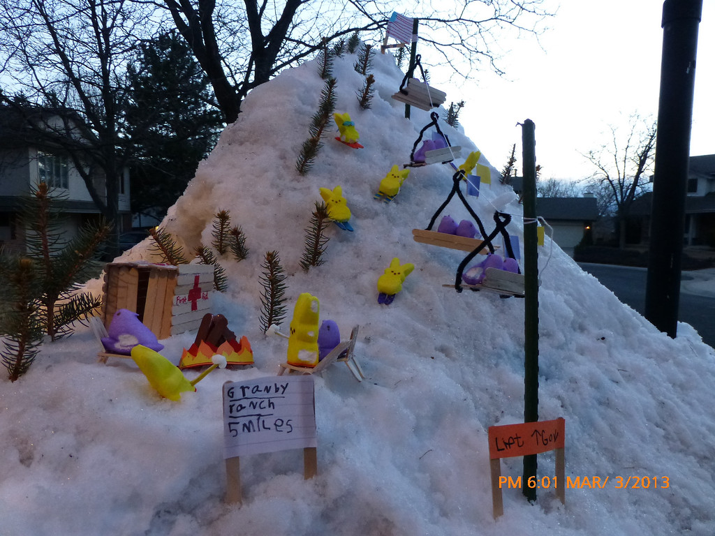 . 2013 Peep Games. Created by Erin Casellas (14), Maddie Wall (14), Ellie (12), Afi (8) and Liam (5).