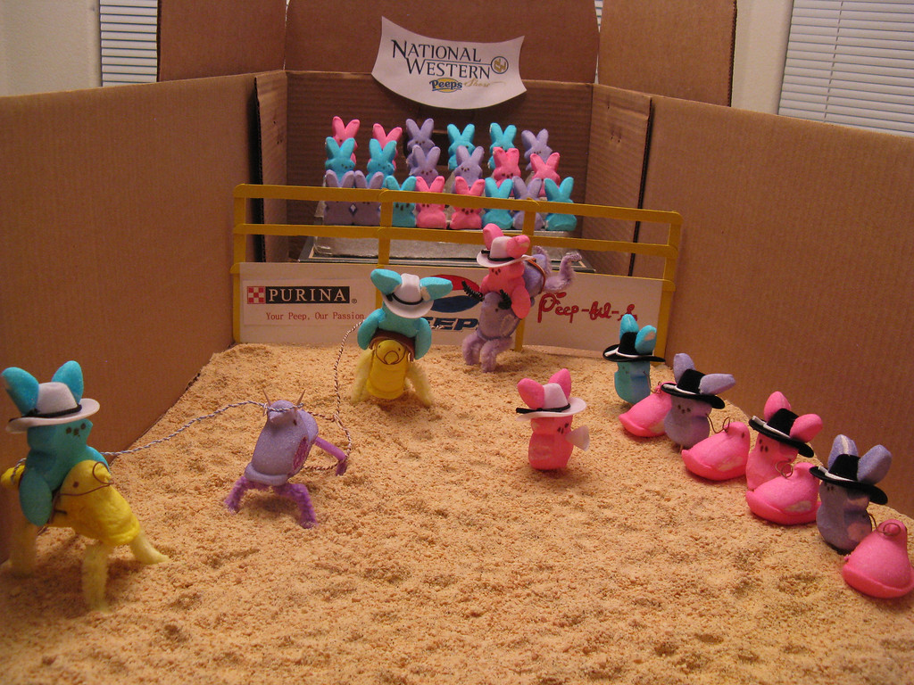 ". ""National Western Peeps Show\"" by Alyssa (25 yrs old) and Rosemary (57 years old) Smith."