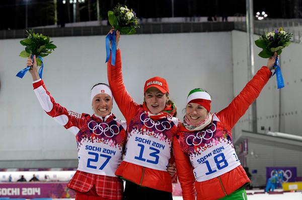 PHOTOS: Women's Biathlon 15k Individual at 2014 Sochi Winter Olympics
