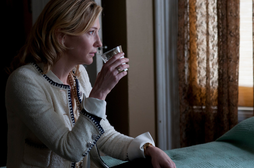 ". 2014 Academy Award Nominee for Best Original Screenplay: ""Blue Jasmine.\"" (Provided by Sony Pictures Classics)"