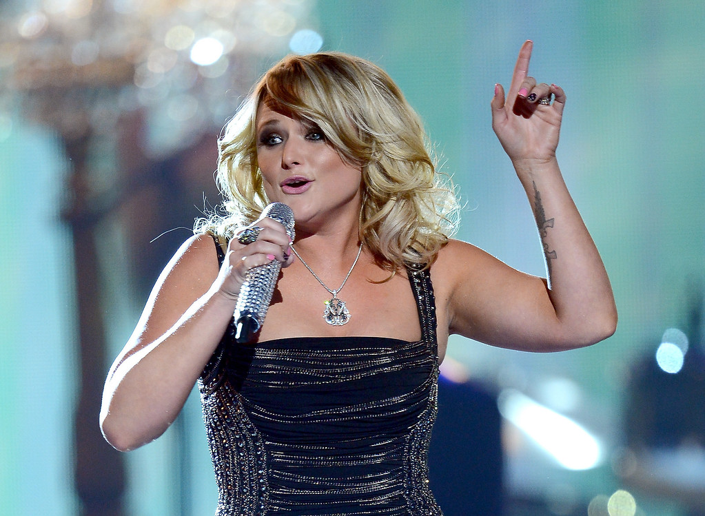 . Singer Miranda Lambert performs onstage during the 48th Annual Academy of Country Music Awards at the MGM Grand Garden Arena on April 7, 2013 in Las Vegas, Nevada.  (Photo by Ethan Miller/Getty Images)