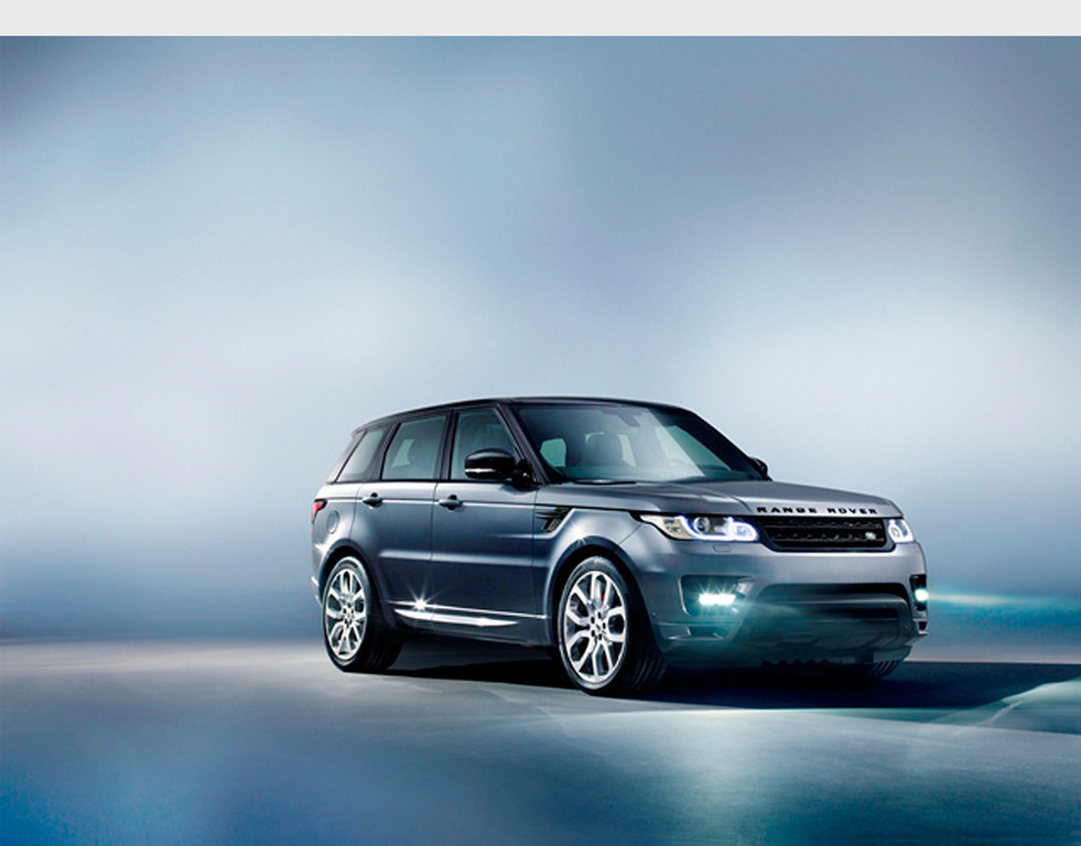 . All-New Range Rover Sport Makes Its Global Debut At The 2013 New York International Auto Show.  (PRNewsFoto/Land Rover)