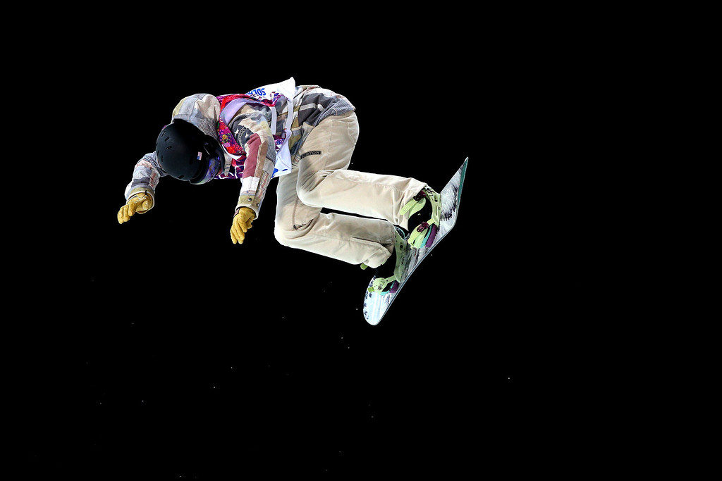 . Kelly Clark of the United States practices ahead of the Snowboard Women\'s Halfpipe Finals on day five of the Sochi 2014 Winter Olympics at Rosa Khutor Extreme Park on February 12, 2014 in Sochi, Russia.  (Photo by Cameron Spencer/Getty Images)