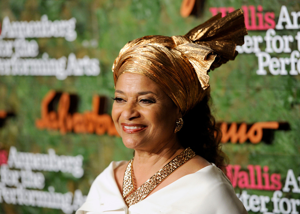 . Actress/choreographer Debbie Allen arrives at the Wallis Annenberg Center for the Performing Arts Inaugural Gala on Thursday, Oct. 17, 2013, in Beverly Hills, Calif. (Photo by Chris Pizzello/Invision/AP)
