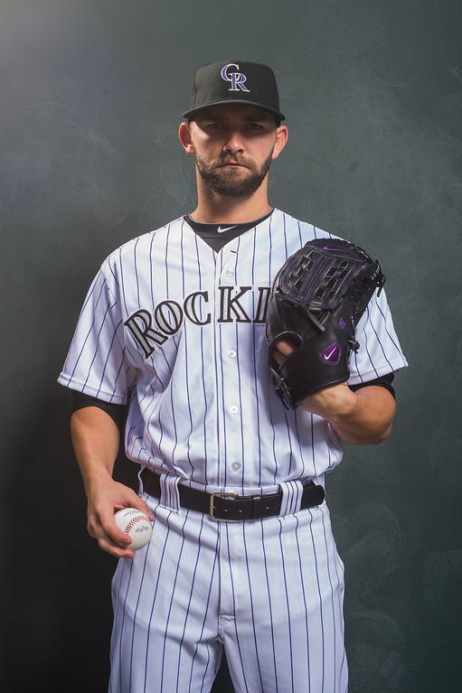 . 27 Tyler Chatwood Position: RHP Height: 6-0 Weight: 185 Expectations: After his breakout 2013 season, Chatwood is primed to be a solid middle-of-the rotation starter. His slider is terrific, but he needs to cut down on walks and also realize that he can�t simply blow the ball by hitters.   2014 salary: $502,000 (Photo by Rob Tringali/Getty Images)