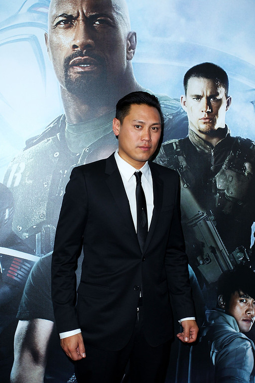 ". Jon M. Chu arrives at the ""G.I.Joe: Retaliation\"" - Australian Premiere at Event Cinemas George Street on March 14, 2013 in Sydney, Australia.  (Photo by Lisa Maree Williams/Getty Images)"