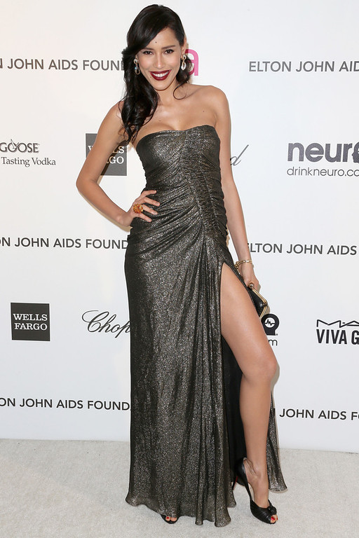 . Actress Rebecca Da Costa arrives at the 21st Annual Elton John AIDS Foundation\'s Oscar Viewing Party on February 24, 2013 in Los Angeles, California.  (Photo by Frederick M. Brown/Getty Images)