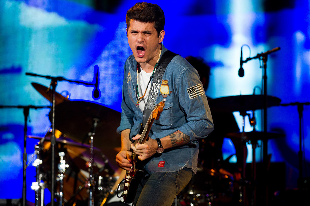 . INVISION FOR UNITE4:GOOD - John Mayer performs at the Global Citizen Festival supported by unite4:good and the PVBLIC Foundation in Central Park on Saturday, Sept. 28, 2013 in New York. (Photo by Charles Sykes/Invision for unite4:good/AP Images)