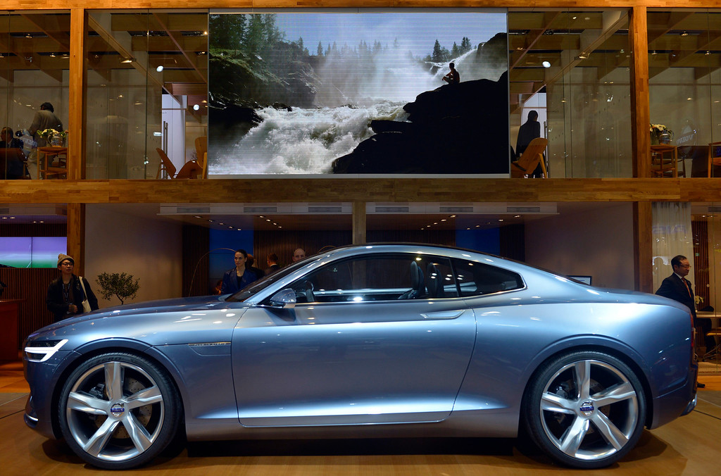 . Volvo\'s Concept Coupe is displayed at the 43rd Tokyo Motor Show 2013 in Tokyo, Japan, 20 November 2013.   EPA/FRANCK ROBICHON