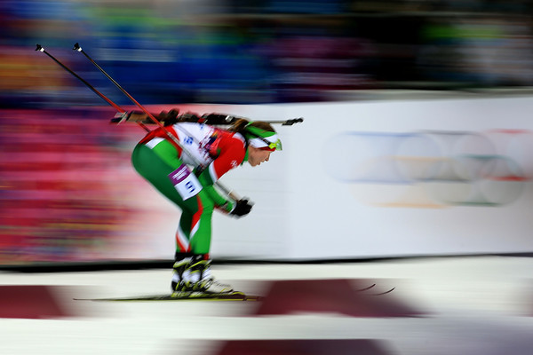 PHOTOS: Biathlon Women's 10k Pursuit at Sochi 2014 Winter Olympics
