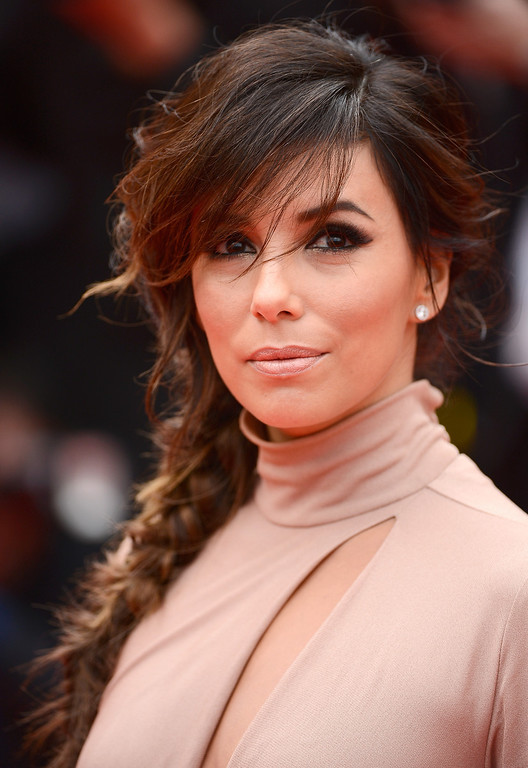 ". Eva Longoria attends the ""Foxcatcher\"" premiere during the 67th Annual Cannes Film Festival on May 19, 2014 in Cannes, France.  (Photo by Ian Gavan/Getty Images)"