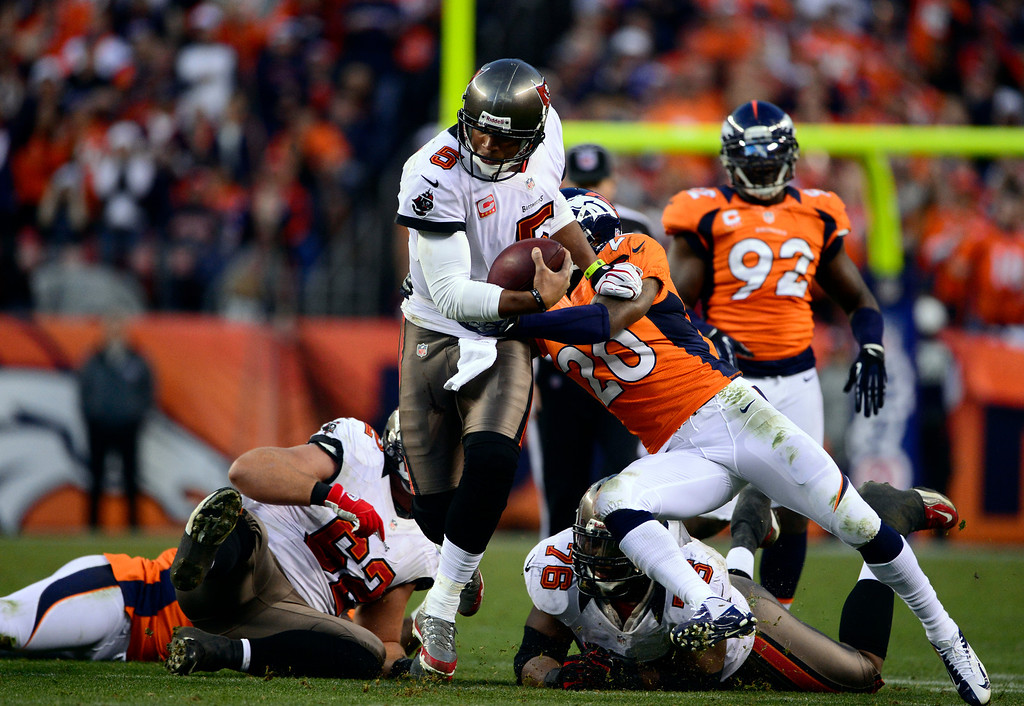 . The Denver Broncos vs The Tampa Bay Buccaneers at Sports Authority Field Sunday December 2, 2012. AAron  Ontiveroz, The Denver Post